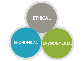 Ethical, Economical, Environmental